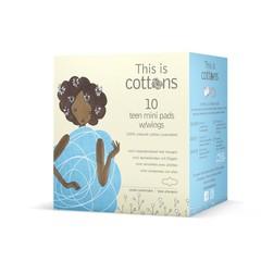 Cottons Tiener maandverband mini (10 stuks)