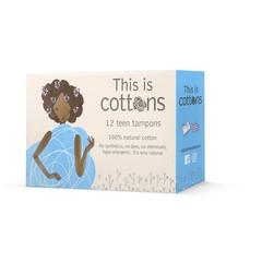 Cottons Tampons tiener (12 stuks)