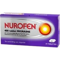 Nurofen Migraine 400 mg (24 tabletten)