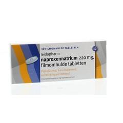 Leidapharm Naproxen natrium 220 mg (10 tabletten)