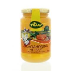 Traay Acaciahoning met raat (450 gram)