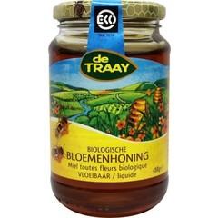 Traay Bloemenhoning vloeibaar bio (450 gram)