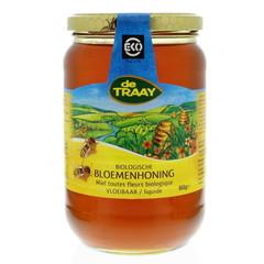 Traay Bloemenhoning vloeibaar bio (900 gram)