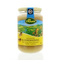 Traay Bloemenhoning creme bio (450 gram)