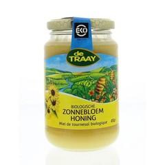 Traay Zonnebloemhoning creme eko (450 gram)