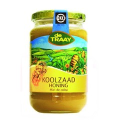 Traay Koolzaadhoning creme bio (450 gram)