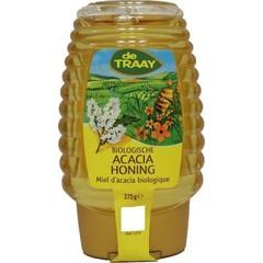 Traay Acaciahoning knijpfles bio (375 gram)