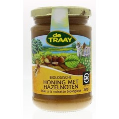 Traay Hazelnoten honing bio (350 gram)