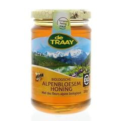 Traay Alpenbloesem honing (350 gram)