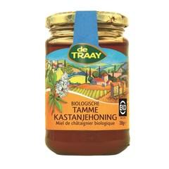 Traay Kastanjehoning tamme bio (350 gram)