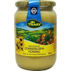 Traay Zonnebloemhoning creme bio (900 gram)