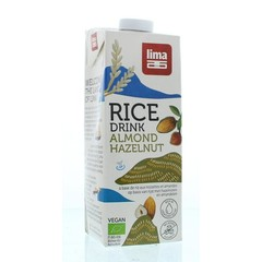 Lima Rice drink hazelnoot amandel (1 liter)