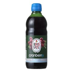 Roosvicee Cranberry fruitkracht (500 ml)