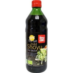 Lima Shoyu 28% less salt (500 ml)