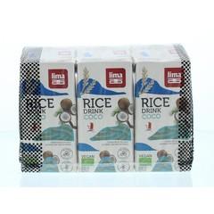 Lima Rice drink coco minipack (3 stuks)