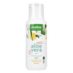 Purasana Aloe vera gel 97% parfum essentiele olie (200 ml)