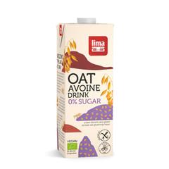 Lima Oat drink naturel 0% suiker (1 liter)
