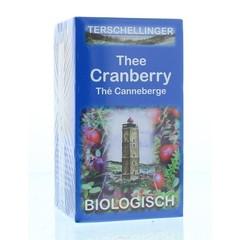 Terschellinger Cranberry thee bio (20 zakjes)
