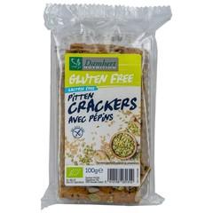 Damhert Cracker pitten bio glutenvrij (100 gram)