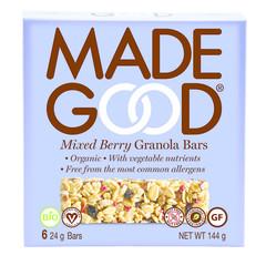 Made Good Granola bar mixed berries 24 gram (6 stuks)