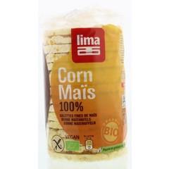 Lima Maiswafels natural fijn rond (120 gram)
