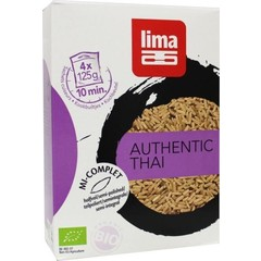 Lima Rijst thai halfvol builtjes 4 x 125 gram (500 gram)