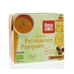 Lima Veloute pompoen kastanje (500 ml)