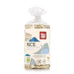 Lima Rijstwafels zonder toegevoegd zout (100 gram)