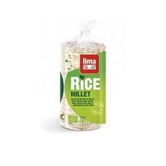 Lima Rijstwafels met gierst (100 gram)