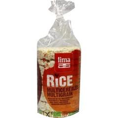 Lima Rijstwafels meergranen (100 gram)