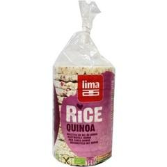 Lima Rijstwafels met quinoa (100 gram)