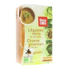 Lima Groentensoep met linzen (1 liter)