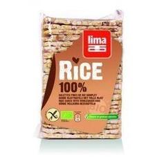 Lima Rijstwafels zout dun recht (130 gram)