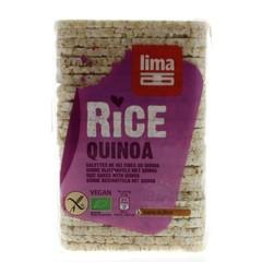 Lima Rijstwafels recht dun quinoa (130 gram)