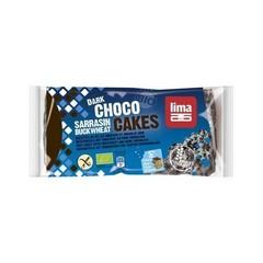Lima Rijstwafel boekweit pure chocolade (90 gram)