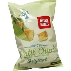 Lima Lentil linzen chips original (90 gram)