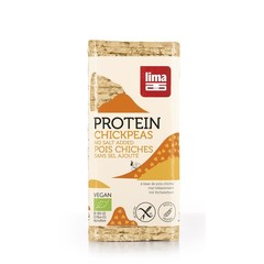Lima Wafels kikkererwt proteine (100 gram)