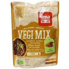 Lima Vegi mix bulgur linzen tomaten curry (250 gram)