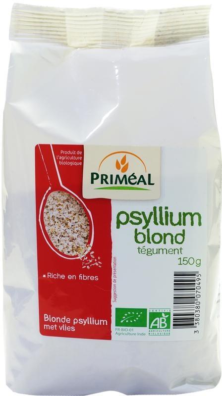 Primeal Primeal Blonde psyllium met vlies (150 gram)