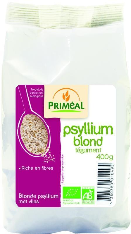 Primeal Primeal Blonde psyllium met vlies (400 gram)