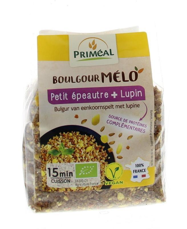 Primeal Primeal Boulgour spelt klein met lupine (330 gram)