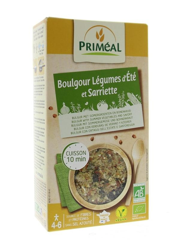 Primeal Primeal Boulgour graan zomerse groente (330 gram)