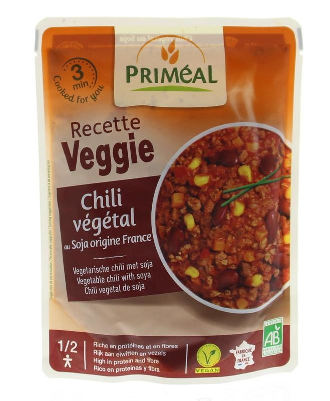 Primeal Primeal Chilli vegetarische sojabonen (250 gram)