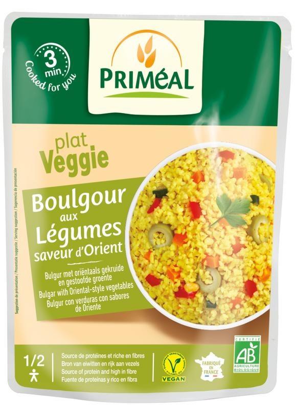 Primeal Primeal Bulgur met groente orientaalse stijl (250 gram)