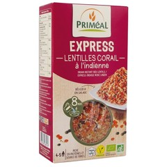 Primeal Linzen express gekookt Indian (250 gram)