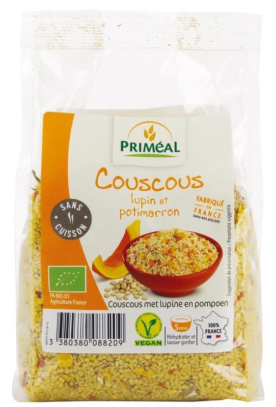 Primeal Primeal Couscous lupine & kastanjepompoen (300 gram)