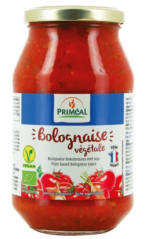 Primeal Primeal Bolognese tomatensaus vegetarisch (510 gram)