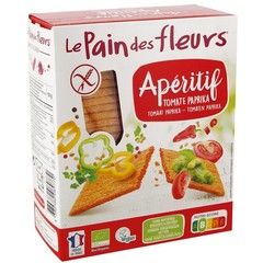 Pain Des Fleurs Knackebrod tomaat/paprika (150 gram)