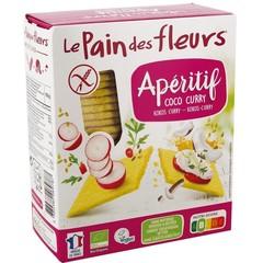 Pain Des Fleurs Knackebrod coco curry (150 gram)