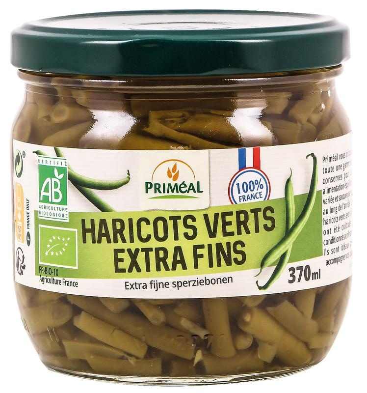 Primeal Primeal Haricots verts extra fijn (370 ml)